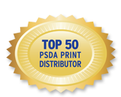Top 50 PSDA Print Distributor