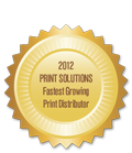 #1 Fastest-Growing Print Distributor in the Nation!