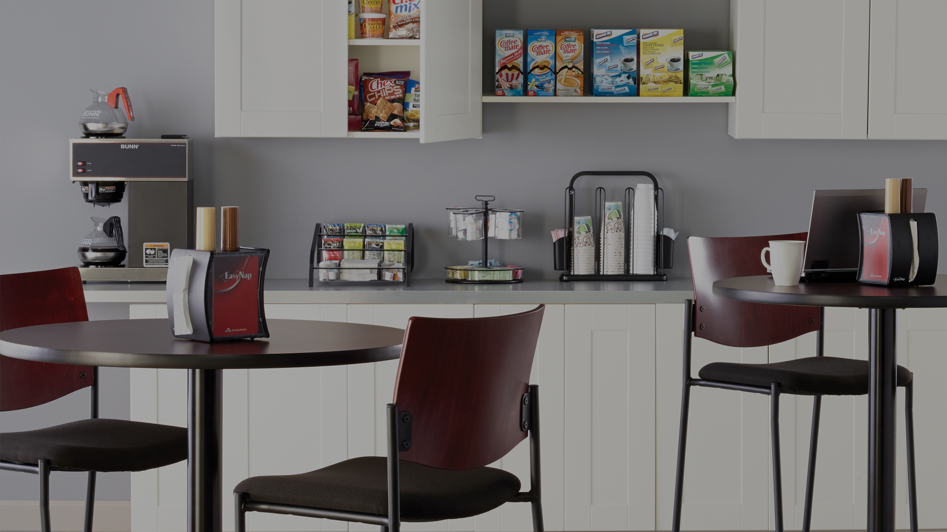 regency business solutions break room furniture cleaning. Black Bedroom Furniture Sets. Home Design Ideas